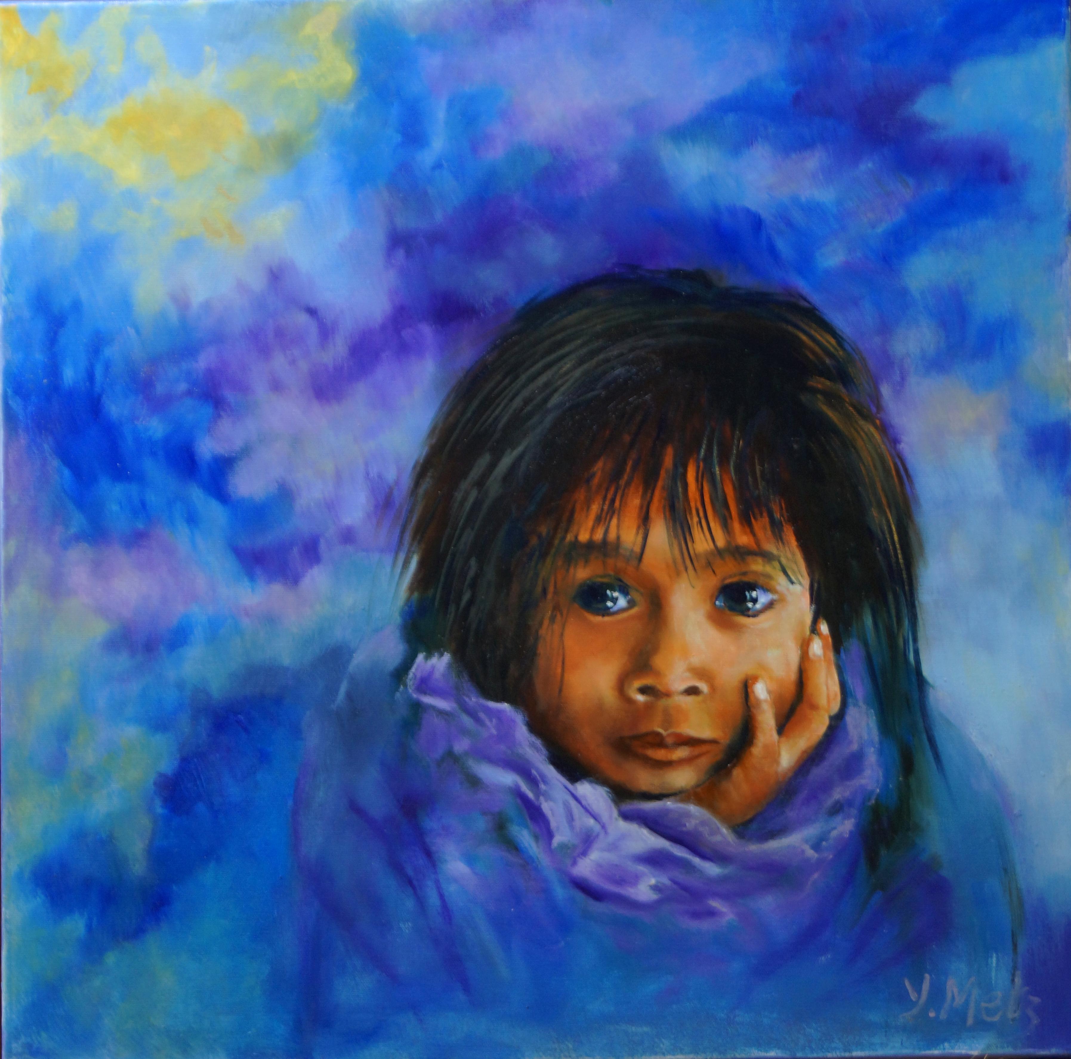 Méditation 2 – Yvette METZ Artiste Peintre